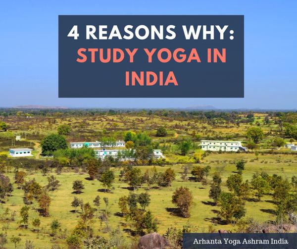 4 raisons pour lesquelles vous devriez étudier le yoga en Inde